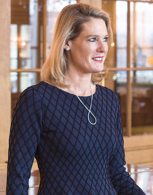 Tanja Wegmann, General Manager, Grand Hotel Les Trois Rois