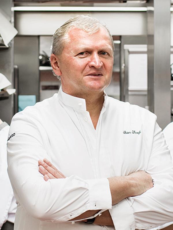 Peter Knogl, Chef de cuisine, Le Cheval Blanc