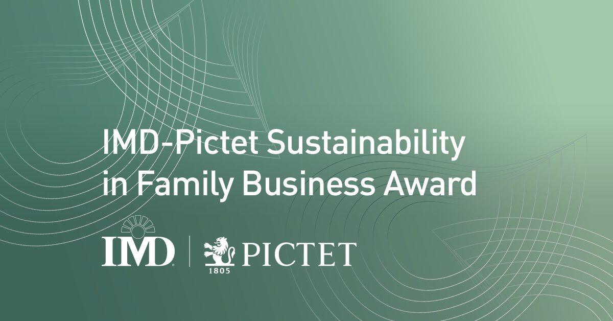 Sustainability in Family Business Award