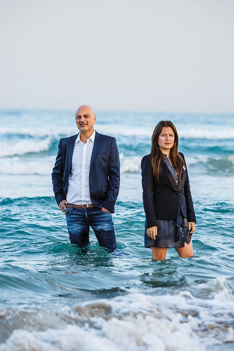 Inna Braverman and David Leb - Co-founders of Eco Wave Power