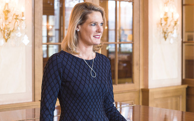 Tanja Wegmann, General Manager, Les Trois Rois - Equipped to be one of Switzerland's foremost hotels, the Grand Hotel Les Trois Rois has achieved a five-star superior rating and membership of the select group of 40 five-star superior Swiss Deluxe Hotels which meet strict quality requirements.